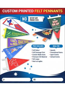 Flags & Felt Pennants