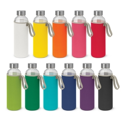 Borosilicate Glass Bottle with Neoprene Sleeve