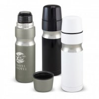 Contour Stainless Steel Vacuum Flask 3 Colours
