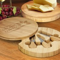 Gift Bamboo Kensington Cheese Board (110803)