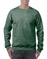 Gildan Heavy Blend Adult Crewneck Sweatshirt Heather Sport Dark Green M