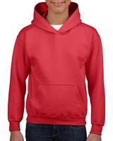 Gildan Heavy Blend Youth Hooded Sweatshirt Red M