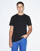 American Apparel Unisex Organic Fine Jersey Short Sleeve T-Shirt Black M