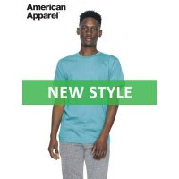 American Apparel Unisex Fine Jersey T-Shirt 146gsm