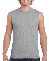 Gildan Ultra Cotton Adult Tank Top Sport Grey M