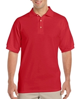 Gildan Ultra Cotton Adult Jersey Sport Shirt Red M