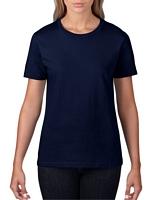 Gildan Premium Cotton Ladies' T-Shirt Navy M