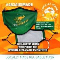 Australian Made Reusable Mask (With Pocket & Optional Filter)
