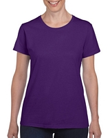 Gildan Heavy Cotton Ladies' T-Shirt Purple S