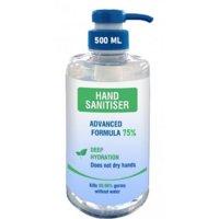 Deep Hydration Hand Sanitiser in Pump Bottle with Advanced Formula
