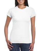 Gildan Softstyle Ladies' T-Shirt White XL