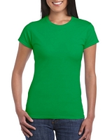 Gildan Softstyle Ladies' T-Shirt Irish Green M
