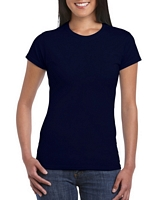 Gildan Softstyle Ladies' T-Shirt Navy M