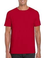 Gildan Softstyle Adult T-Shirt Cherry Red M