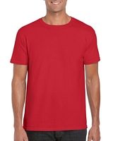 Gildan Softstyle Adult T-Shirt Red XS