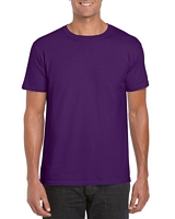 Gildan Softstyle Adult T-Shirt Purple L