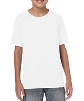 Gildan Softstyle Youth T-Shirt White YM