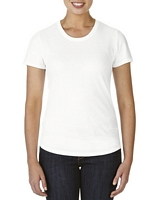 Anvil Women's Tri-Blend T-Shirt White XS