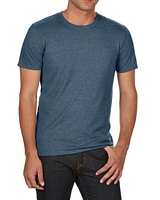 Anvil Adult Tri-Blend T-Shirt Heather Navy M