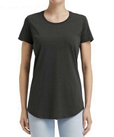 Anvil Women's Black Label T-Shirt Smoke XS