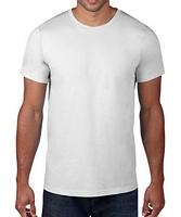 Anvil Adult Black Label T-Shirt White XS