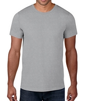 Anvil Adult Black Label T-Shirt Heather Grey XS
