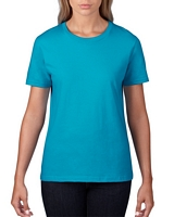 Anvil Women's Lightweight T-Shirt Caribbean Blue M