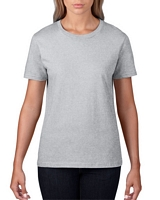 Anvil Women's Lightweight T-Shirt Heather Grey S