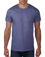 Anvil Adult Lightweight T-Shirt Heather Blue S