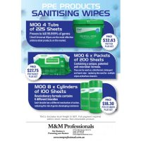 Clinell Universal Sanitising Wipes (BU-clinell)