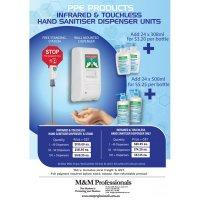 Infrared Non Contact Sanitiser Dispenser
