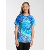 1000 Adult Tie Dye T Shirt Blue Jerry
