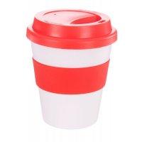 Reusable Eco Cup Karma Coffee Kup Red (G1199) 320ml / 11oz