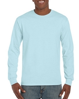 Gildan Hammer Adult Long Sleeve T-Shirt Chambray M