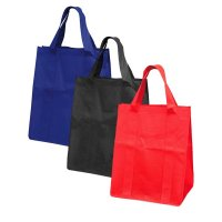 Large Non Woven Bags with Gussets and Reinforced Handles