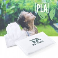 Adult Reusable Ponchos made from 100% Compostable PLA