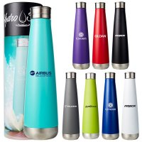 Hydro Soul Stainless Steel Lotus Bottle Mirror Finish (S888)