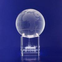 Crystal Spinning Globe GLB10