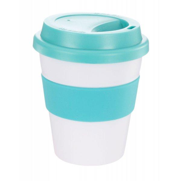 Reusable Eco Cup Karma Coffee Kup Turquoise (G1199) 320ml / 11oz