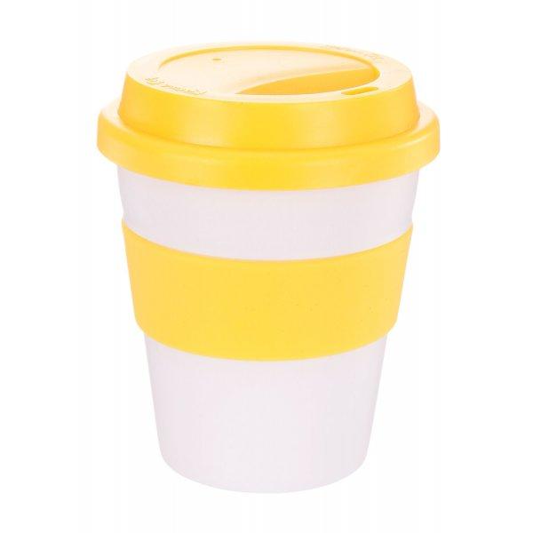 Reusable Eco Cup Karma Coffee Kup Yellow (G1199) 320ml / 11oz
